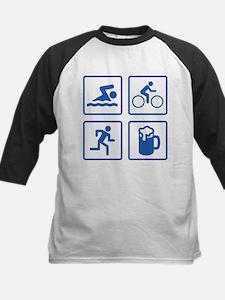 Swim Bike Run Drink Tee