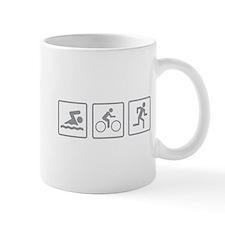 Triathlon Swim Bike Run Mug