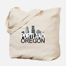 Portland Skyline Tote Bag