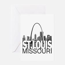 St. Louis Skyline Greeting Card