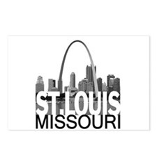 St. Louis Skyline Postcards (Package of 8)