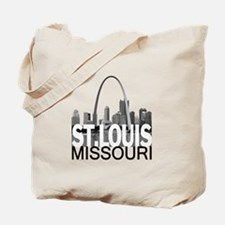 St. Louis Skyline Tote Bag