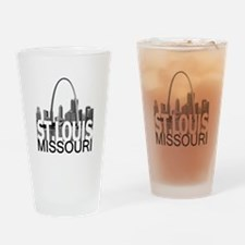 St. Louis Skyline Drinking Glass