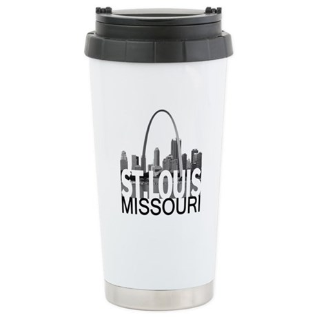 St. Louis Skyline Stainless Steel Travel Mug