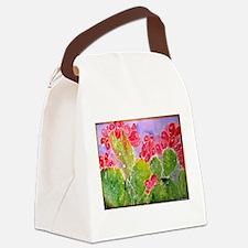 Cactus! Southwest art! Canvas Lunch Bag