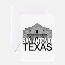 San Antonio Skyline Greeting Card