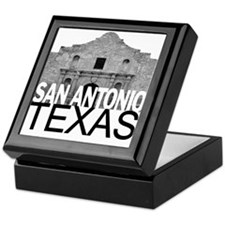 San Antonio Skyline Keepsake Box