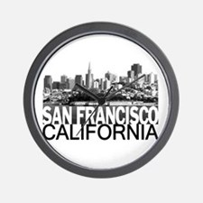 San Francisco Skyline Wall Clock