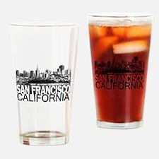 San Francisco Skyline Drinking Glass