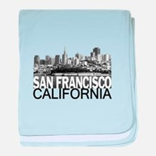 San Francisco Skyline baby blanket