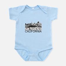 San Francisco Skyline Infant Bodysuit