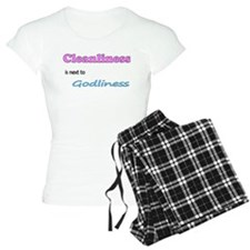 Cleanliness is next to Godliness Pajamas