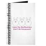 Save the dustbunnies Journal