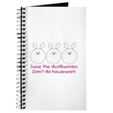 Save the dustbunnies Journal