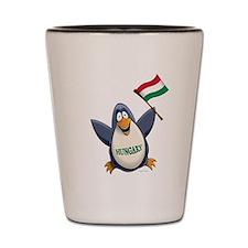Hungary Penguin Shot Glass