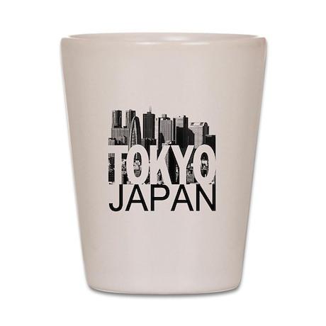 Tokyo Skyline Shot Glass