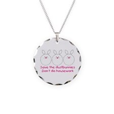 Save the dustbunnies Necklace