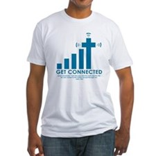"""Get Connected"" Ash Grey T-Shirt Shirt"