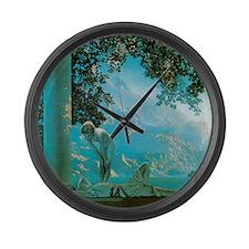 Maxfield Parrish Daybreak Large Wall Clock