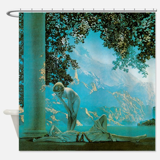 Maxfield Parrish Daybreak Shower Curtain