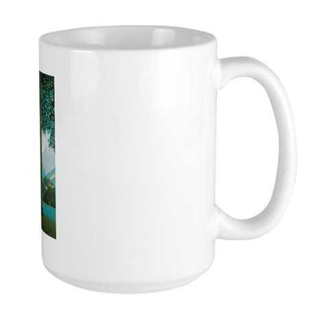 Maxfield Parrish Daybreak Large Mug