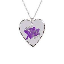 Alzheimer's Disease Love Hope Cure Necklace