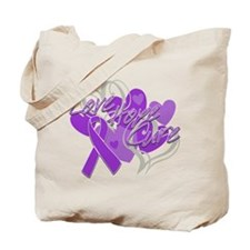 Alzheimer's Disease Love Hope Cure Tote Bag