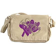 Alzheimer's Disease Love Hope Cure Messenger Bag