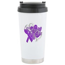 Alzheimer's Disease Love Hope Cure Travel Mug