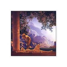 "Maxfield Parrish Daybreak Square Sticker 3"" x 3"""