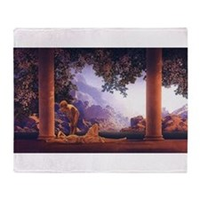 Maxfield Parrish Daybreak Throw Blanket