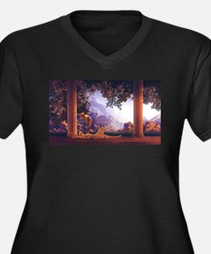 Maxfield Parrish Daybreak Women's Plus Size V-Neck