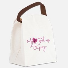 myheartdep.png Canvas Lunch Bag