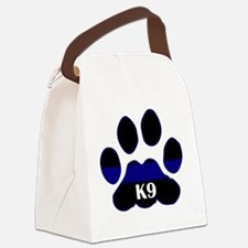 k9blue.png Canvas Lunch Bag