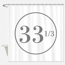 Long Playing Shower Curtain