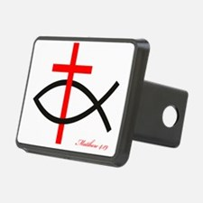 cross and fish Hitch Cover
