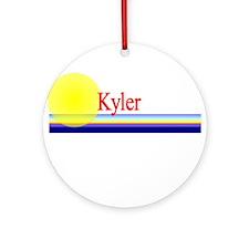 Kyler Ornament (Round)