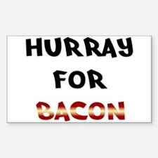 Hurray for Bacon Decal