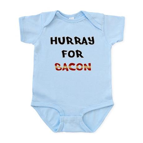 Hurray for Bacon Infant Bodysuit