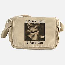 Cute Breast feeding Messenger Bag