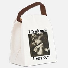 Funny Breastmilk Canvas Lunch Bag
