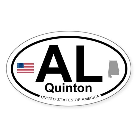 Quinton Sticker (Oval)