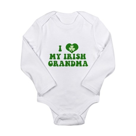 I Love My Irish Grandma Long Sleeve Infant Bodysui
