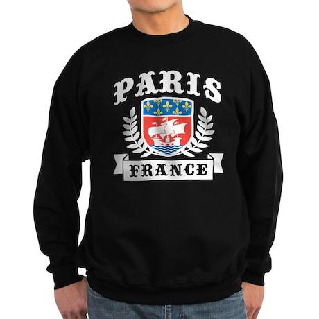 Paris France Sweatshirt (dark)