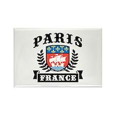 Paris France Rectangle Magnet