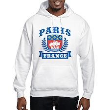 Paris France Hoodie Sweatshirt