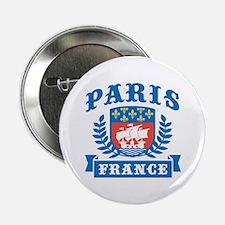 """Paris France 2.25"""" Button"""