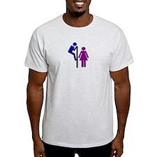 Toilet Sign T-Shirt