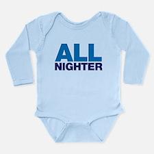 All Nighter Long Sleeve Infant Bodysuit