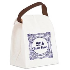 221b Baker Street Canvas Lunch Bag
